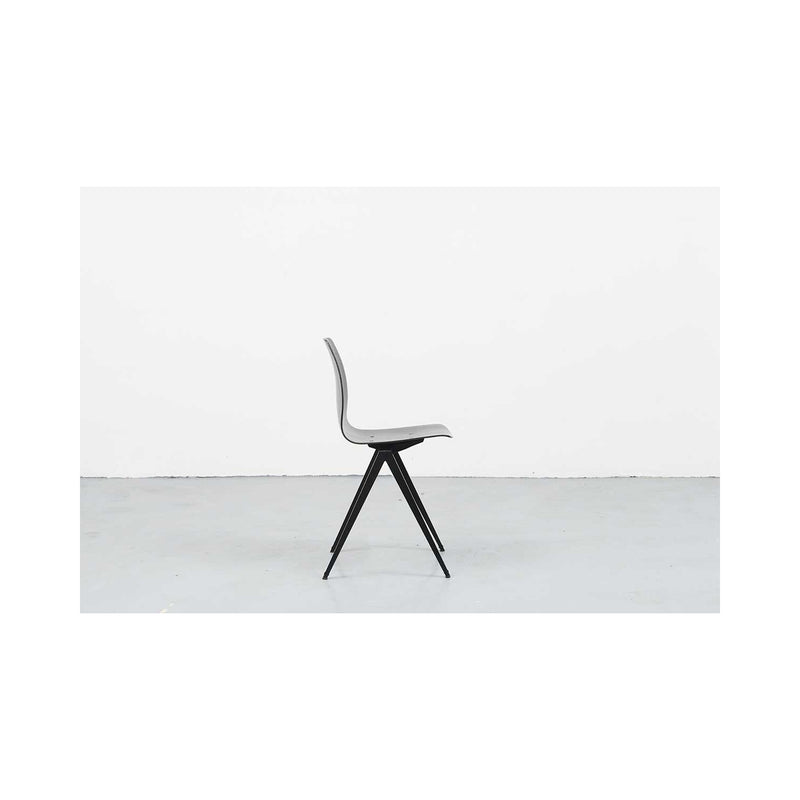S19 Black Chair by Galvanitas