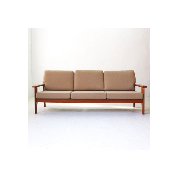 Vintage 3-seater Sofa in Teak, 1960s