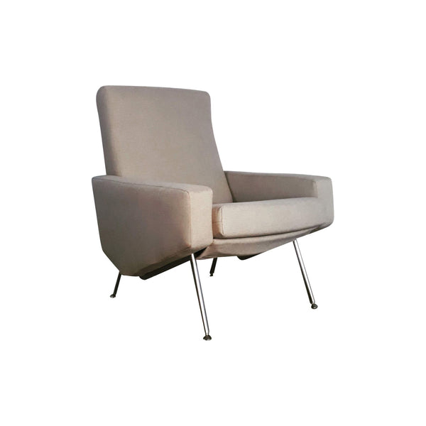 Vintage Armchair Troika by Paul Geoffroy for Airborne