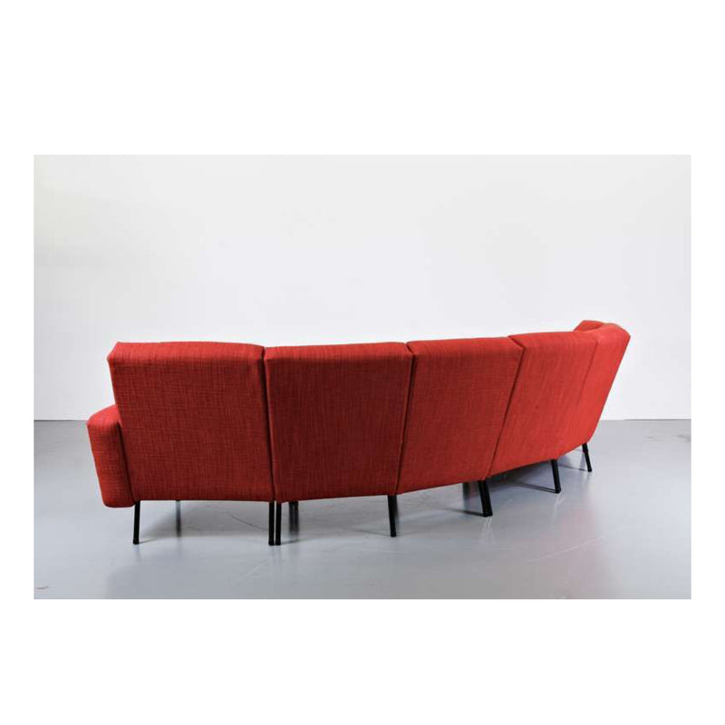 Vintage Sofa Model L-10 by Pierre Guariche for Airborne, France 1960s