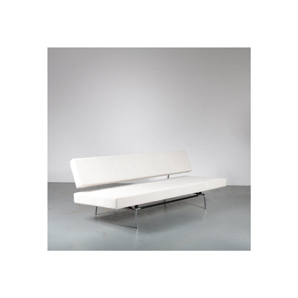 Vintage Sleeping Sofa in Metal en Fabric by Martin Visser, 1960s