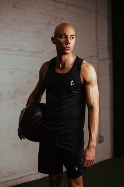 Jet Black Training Tank