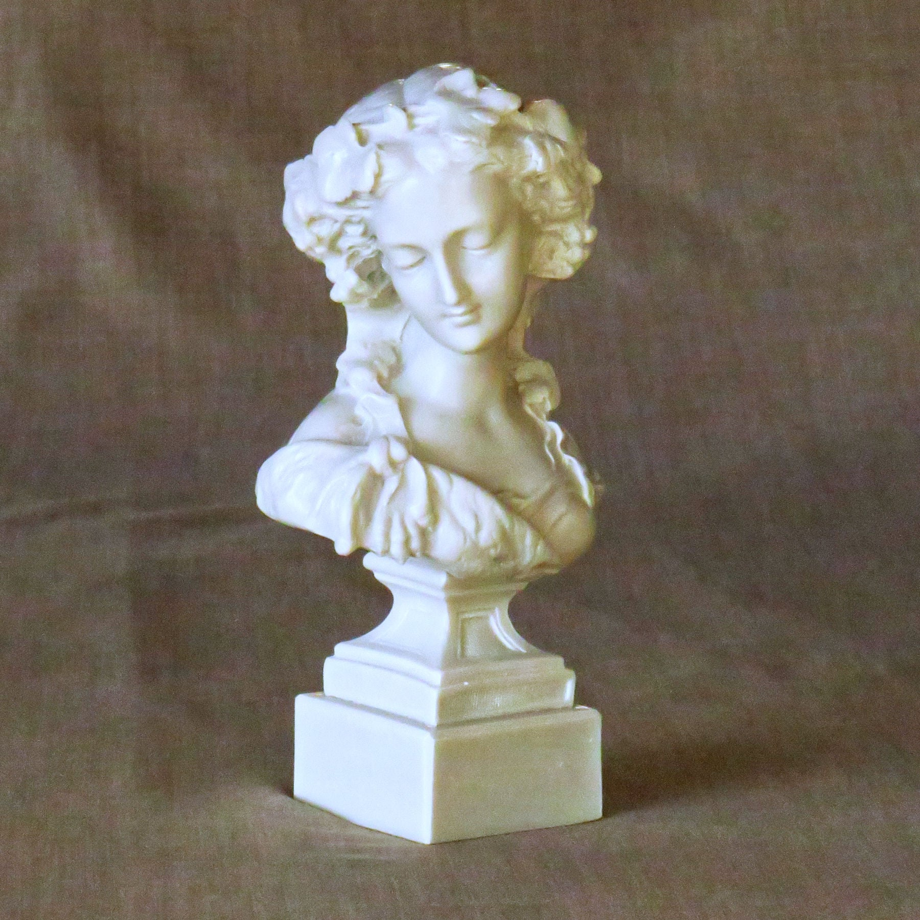 Céres Goddess of Agriculture in Cold cast marble