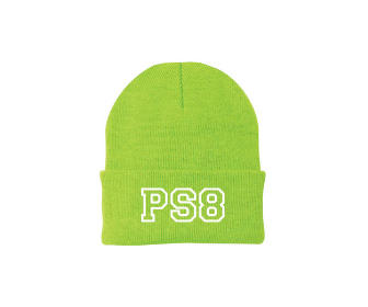 Neon Green Knit Hat