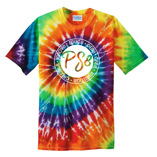 Rainbow Tie-Dye Tee (YOUTH L)