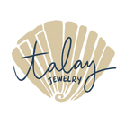 Talay Jewelry script with shell logo