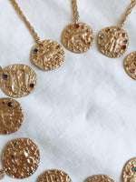 Load image into Gallery viewer, Jeweled Zodiac Necklace - Talay Jewelry