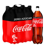 COCA-COLA Refresco de cola Zero (pack 6x2L) - NOZAMA.GREEN