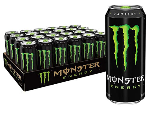 MONSTER Bebida energética (pack 24x0.5L) - NOZAMA.GREEN