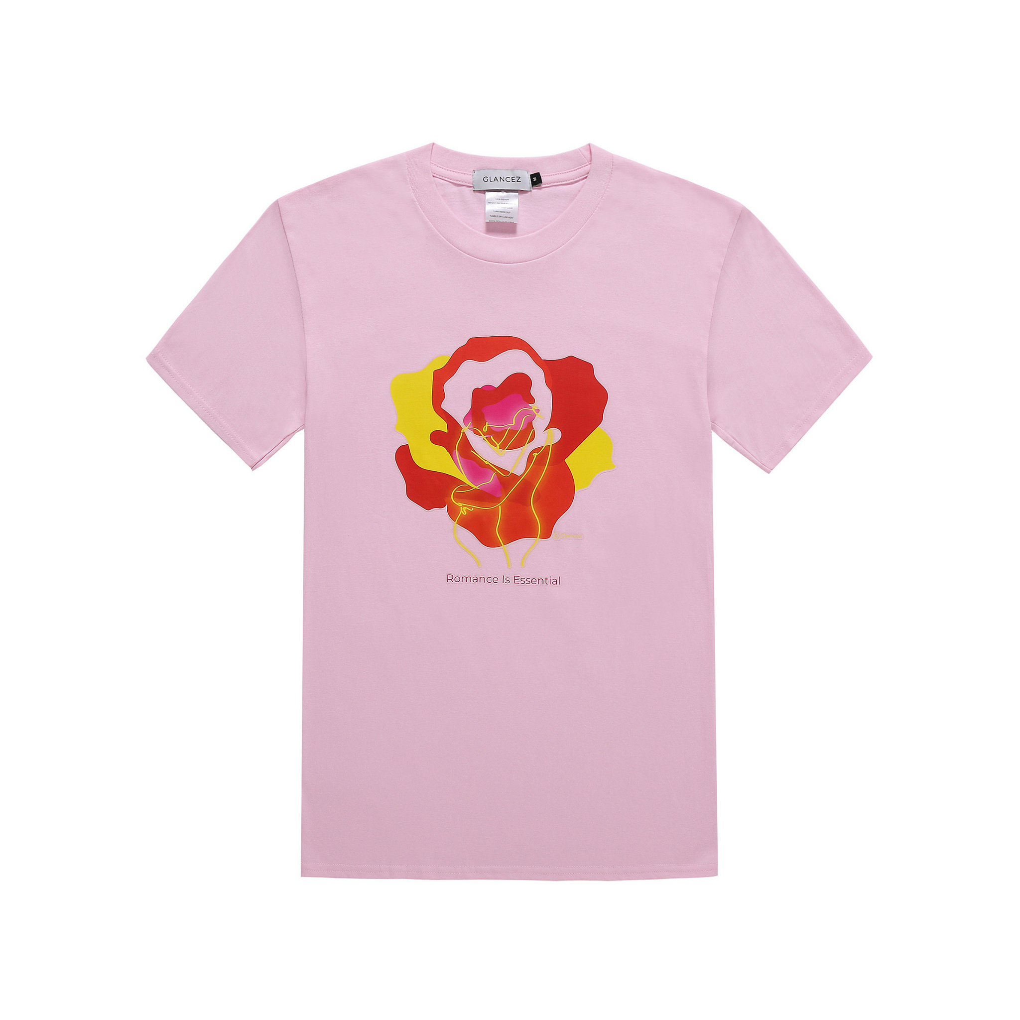 Original Romance T-shirt In Pink