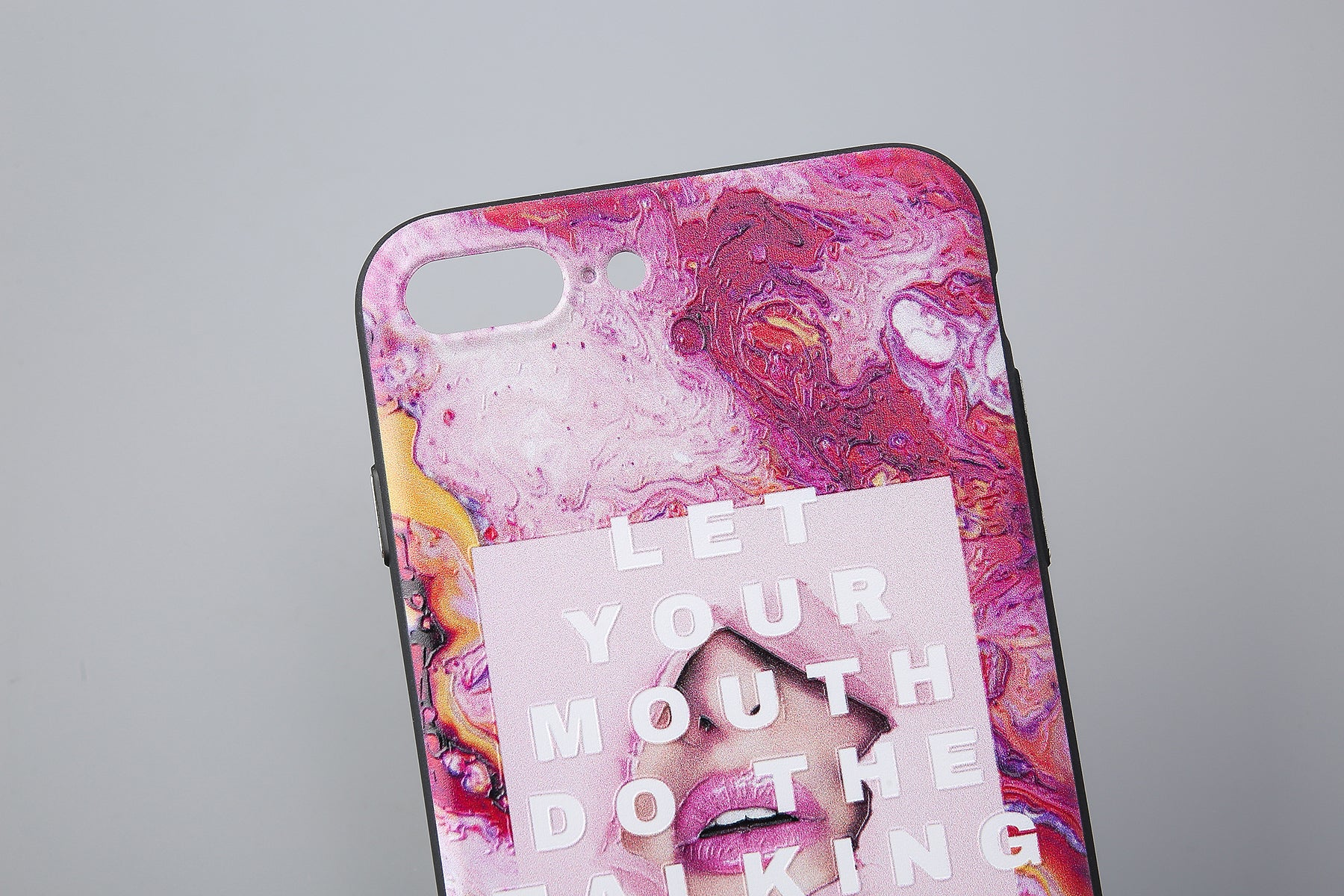 Original Do The Talking iPhone Case