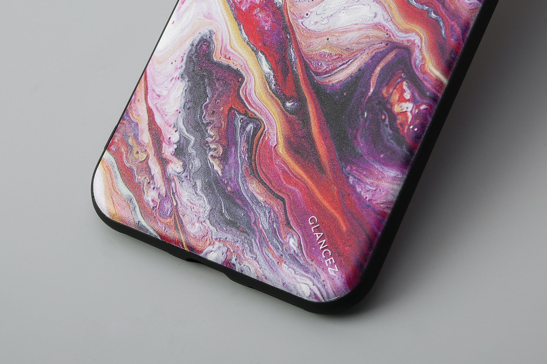 Original Pink Fluid Art iPhone Case
