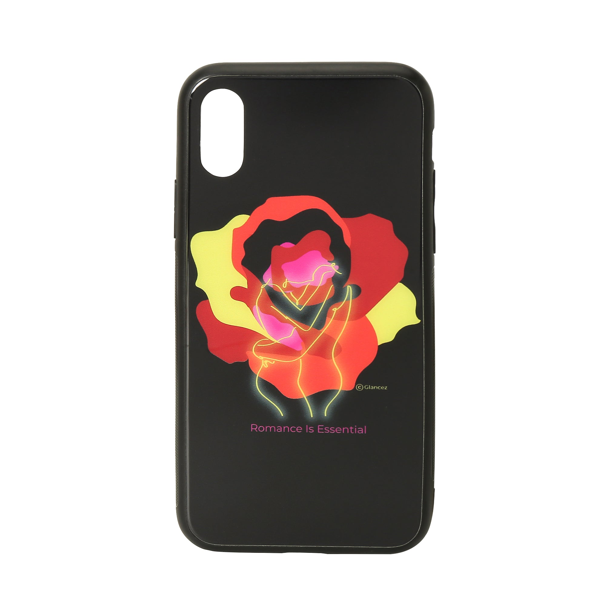 Original Romance Glass iPhone Case