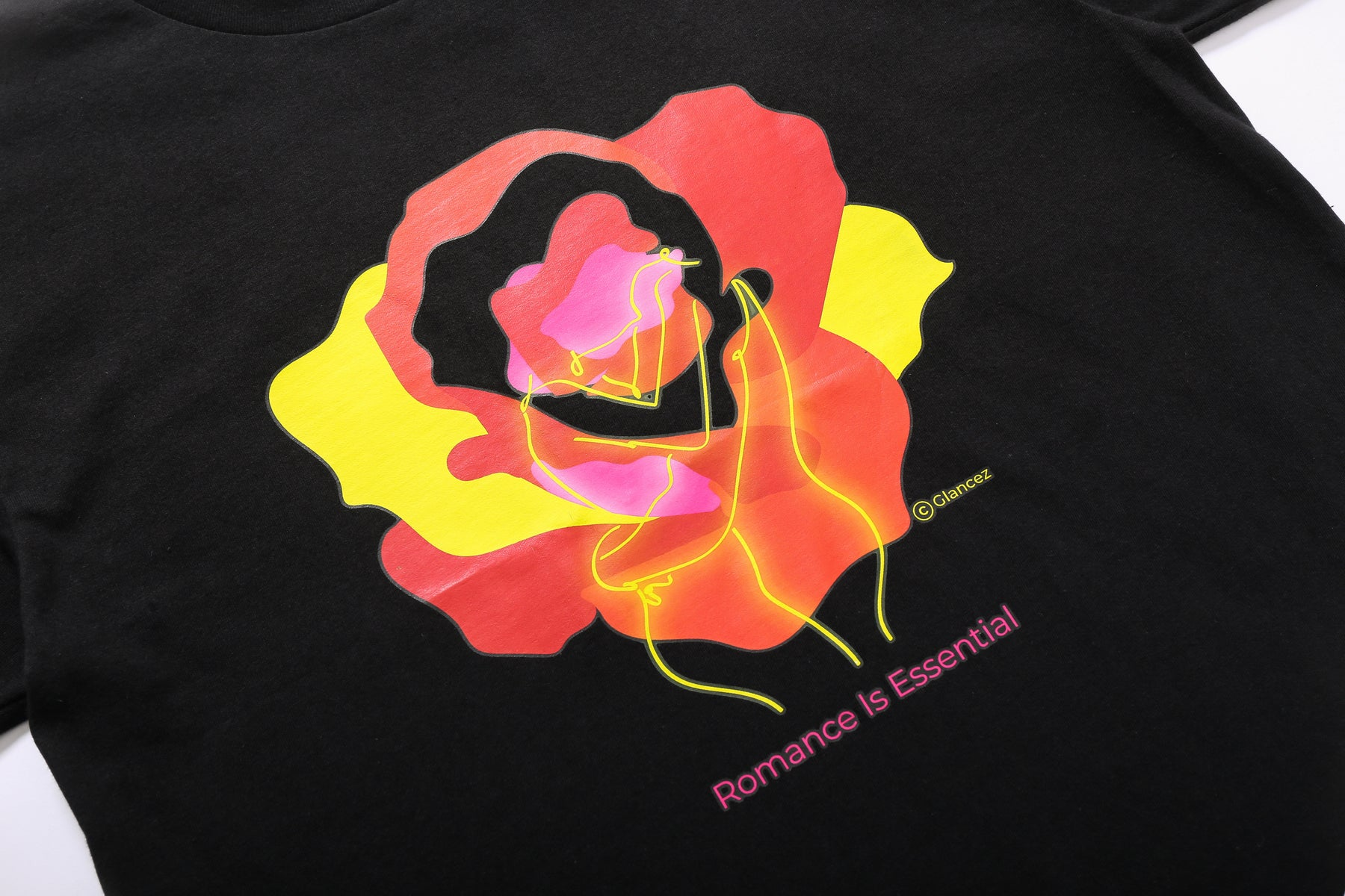 Original Romance T-shirt In Black