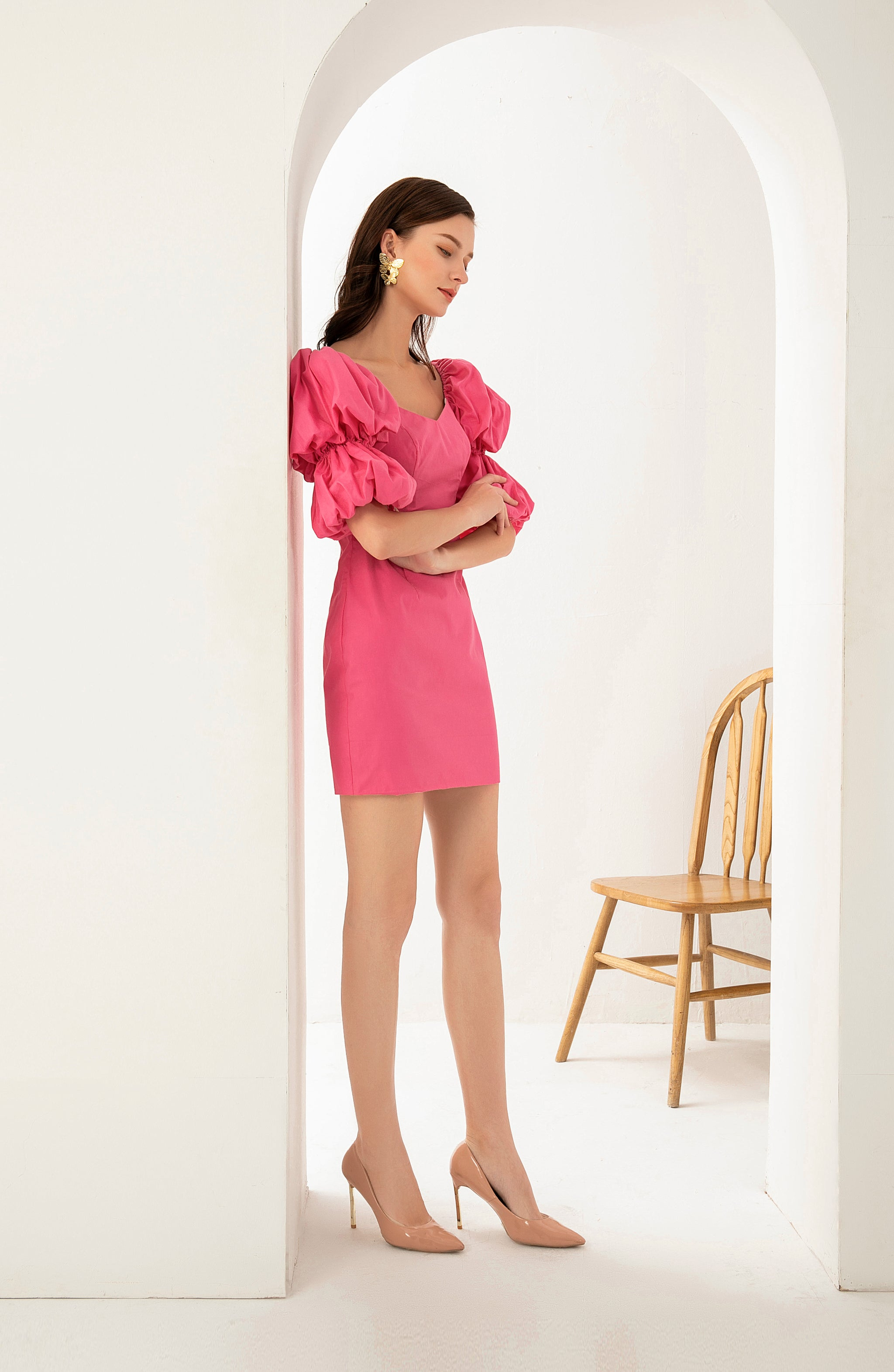PRE-ORDER Audrey Dress In Pink