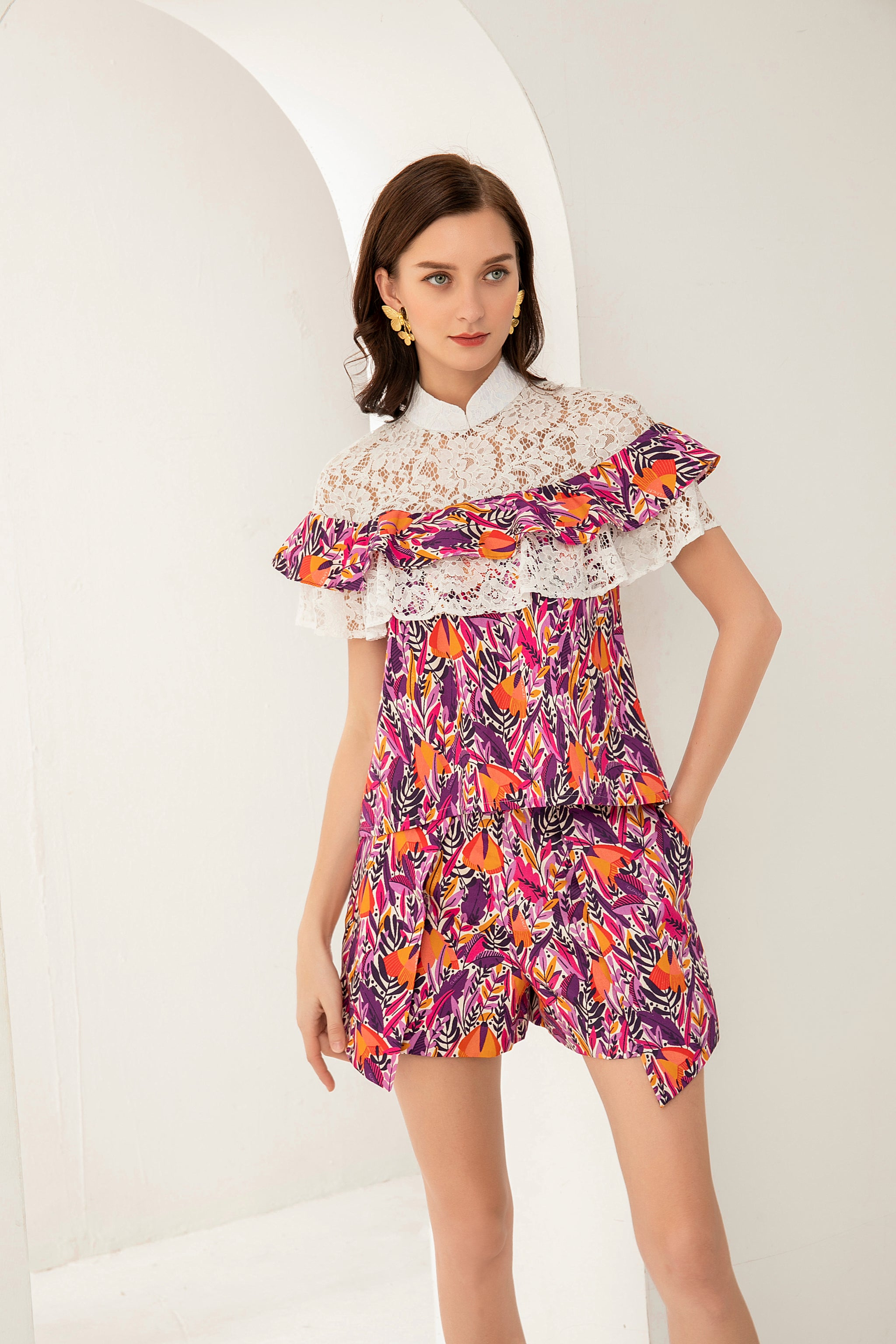 PRE-ORDER Isabelle Frill Top