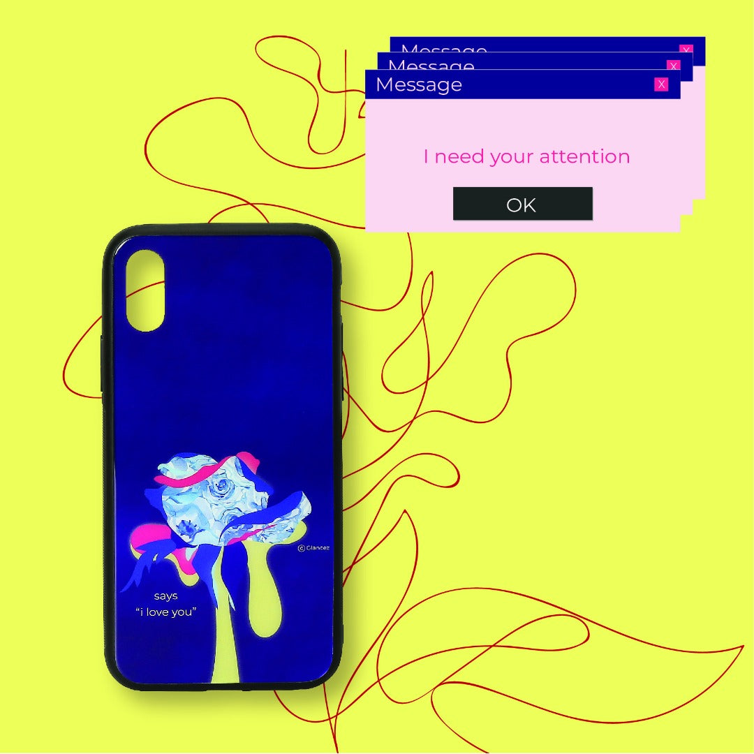 Original I Love You Blu-Ray iPhone Case