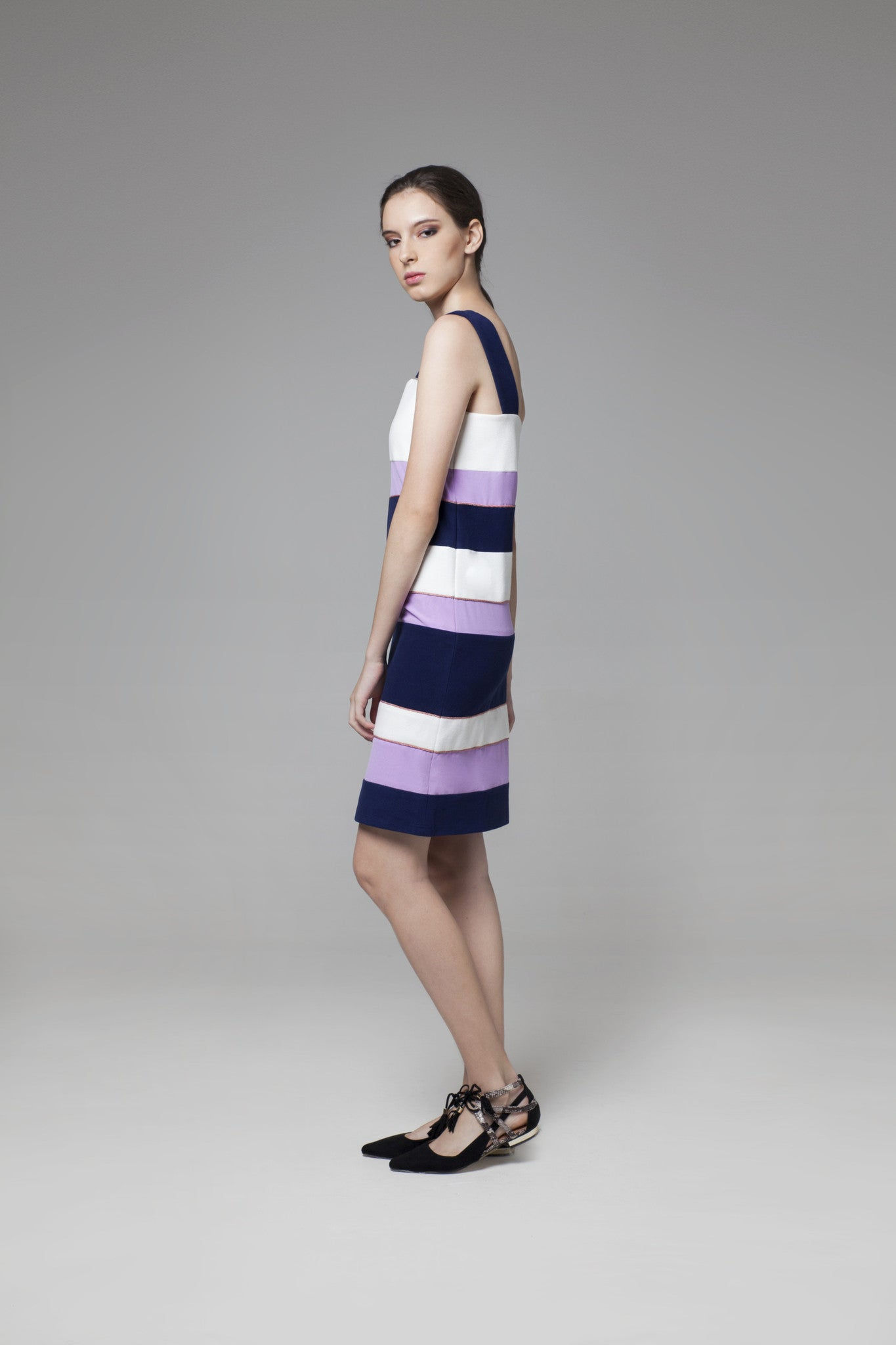 Color Block Dress - GlanceZ   - 2