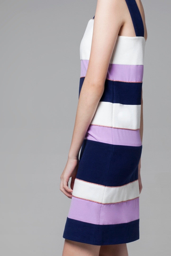 Color Block Dress - GlanceZ   - 4