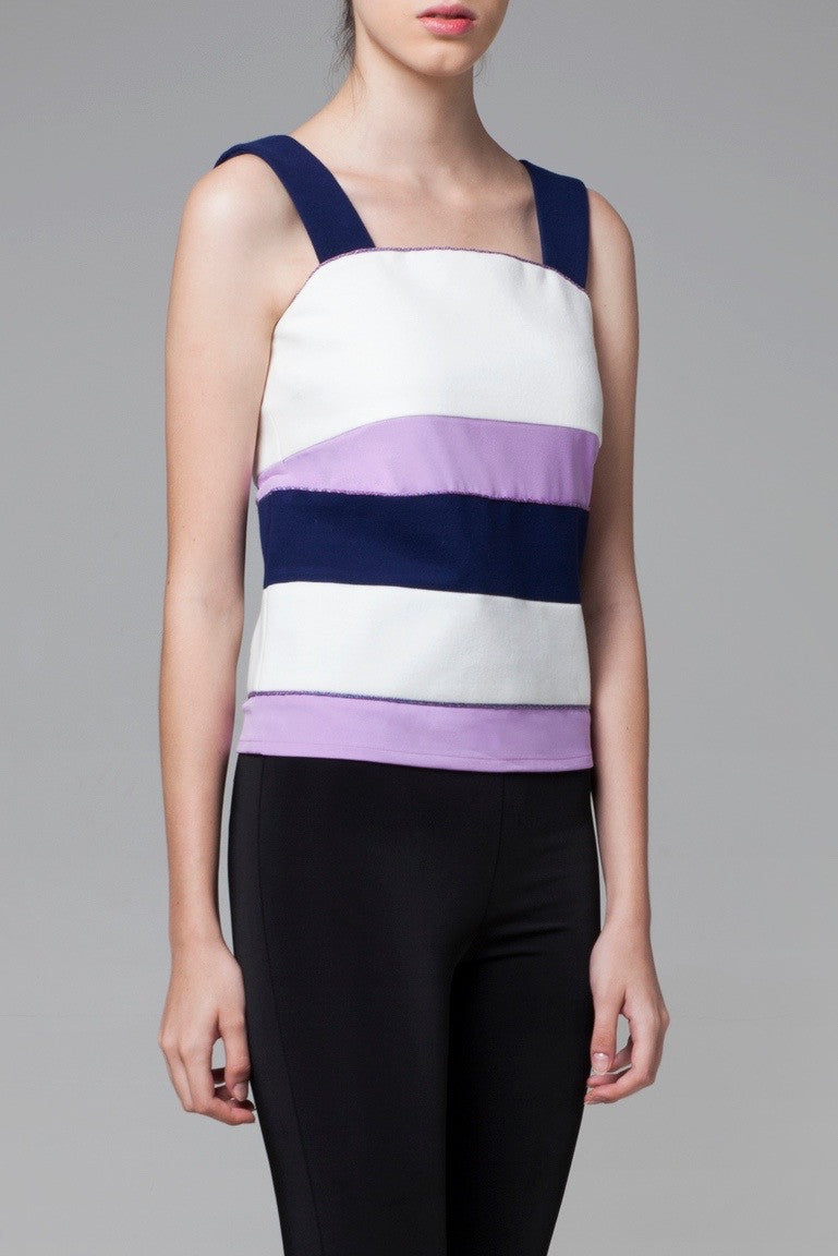 Color Block Tank Top - GlanceZ   - 4
