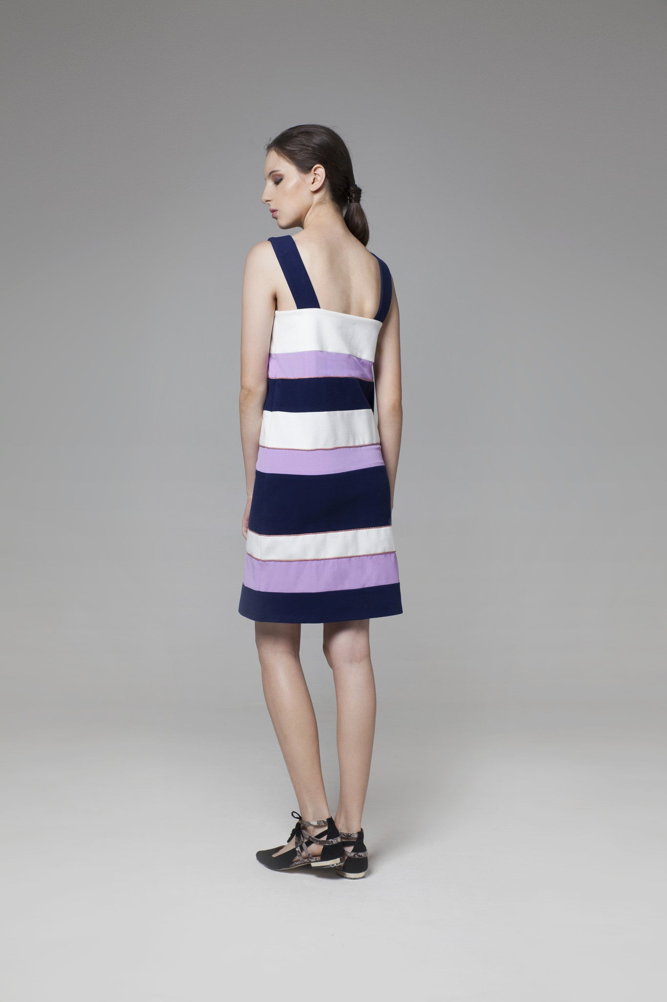 Color Block Dress - GlanceZ   - 3