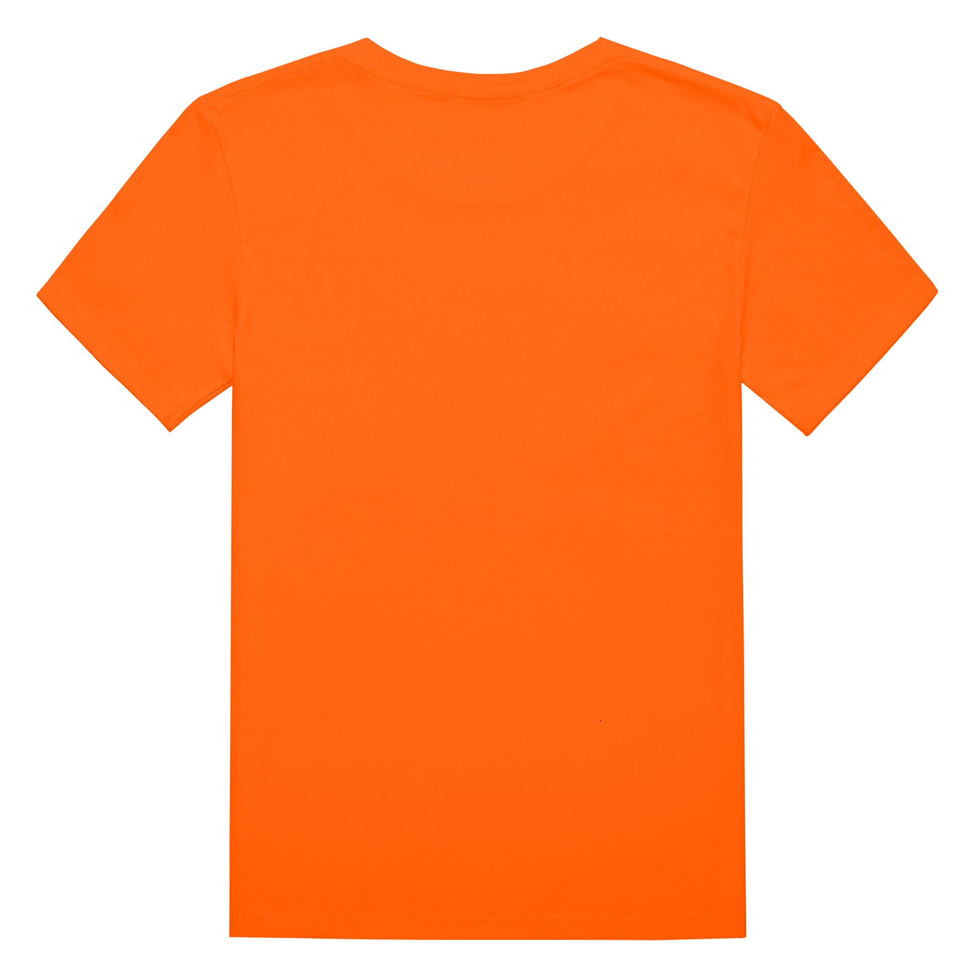 Original Keep Your Phone Silent T-shirt In Orange