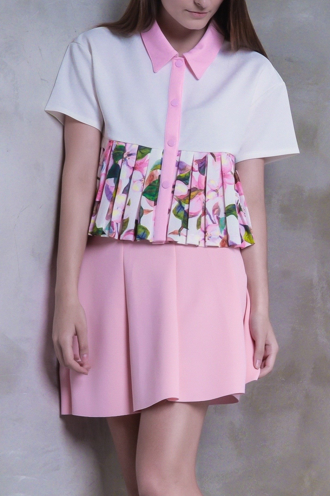 Sakura Pleat Top - GlanceZ   - 4