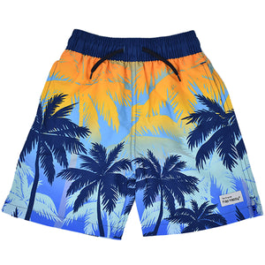 (NEW) UPF 50+ Wesley Swim Trunks with Mesh Liner (50% Recycled)
