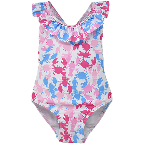 (NEW) UPF 50+ Mindy Crossback Swimsuit (Recycled) 1