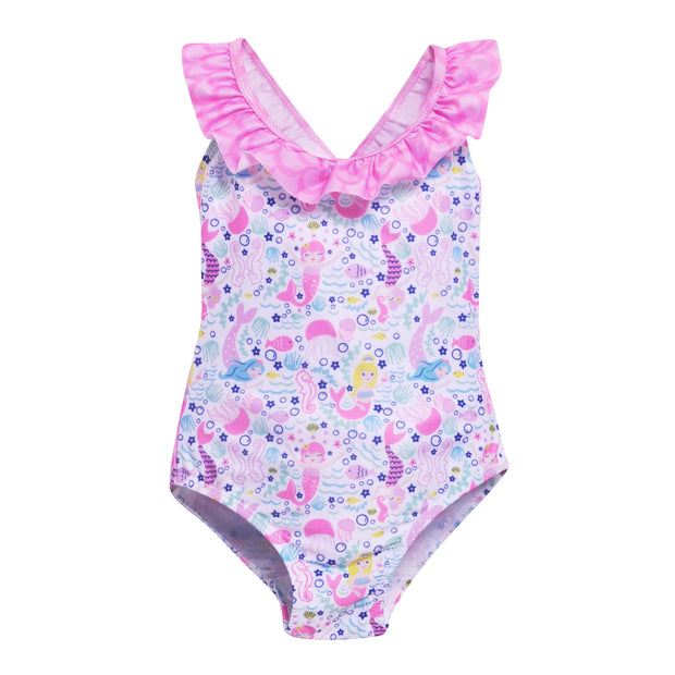 UPF 50+ Mindy Cross-Back Swimsuit (Recycled) 1