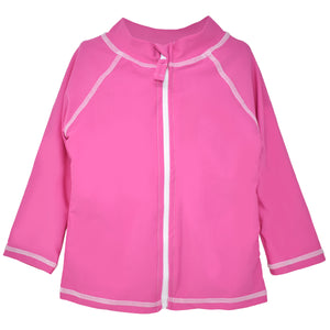 UPF 50+ Zip Front Swim Jacket