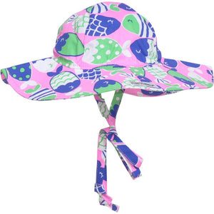 UPF 50+Floppy Hats (Prints - Cotton)