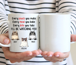 Personalized Gifts For Cat Loves - I Will Be Watching You
