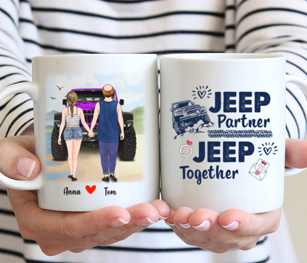 Customized Mug - Jeep Partner Jeep Together