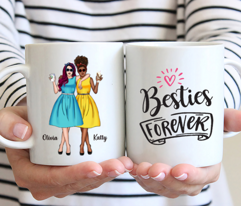 Vintage Best Friends- Besties Forever