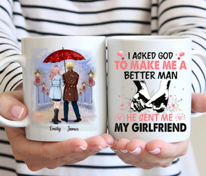 Winter Couple - I Asked God To Make Me A Better Man