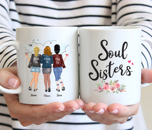 Personalized 3 Sisters- Soul Sisters