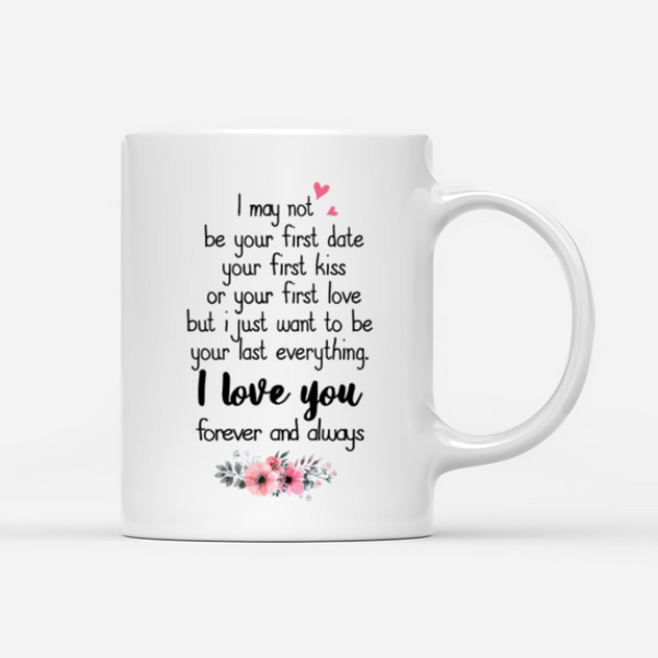 Kissing Couple Personalized Mug - I Love You Forever And Always - Collection Of Famous Place