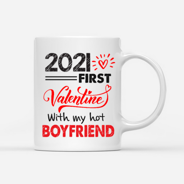 Couple - 2021 First Valentine With My Hot Boyfriend