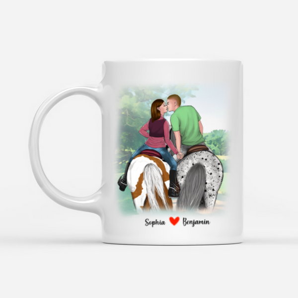 Personalized Mug - We're Not Afraid Of A Little Power Between Our Leg