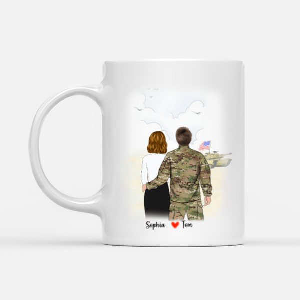 Personalised Army Mug - You stole my heart
