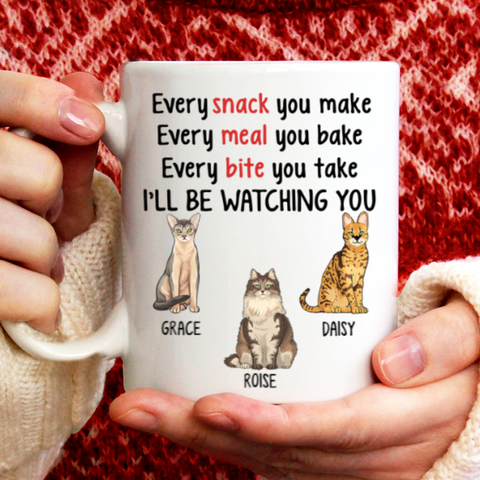 Personalized Mug - Every Snack You Make