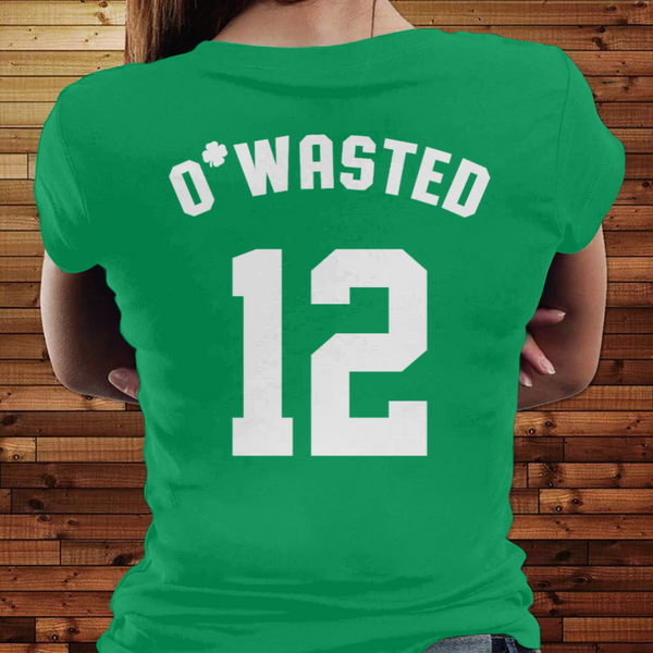 St Patrick's Day Personalized T-Shirt Drinking Team