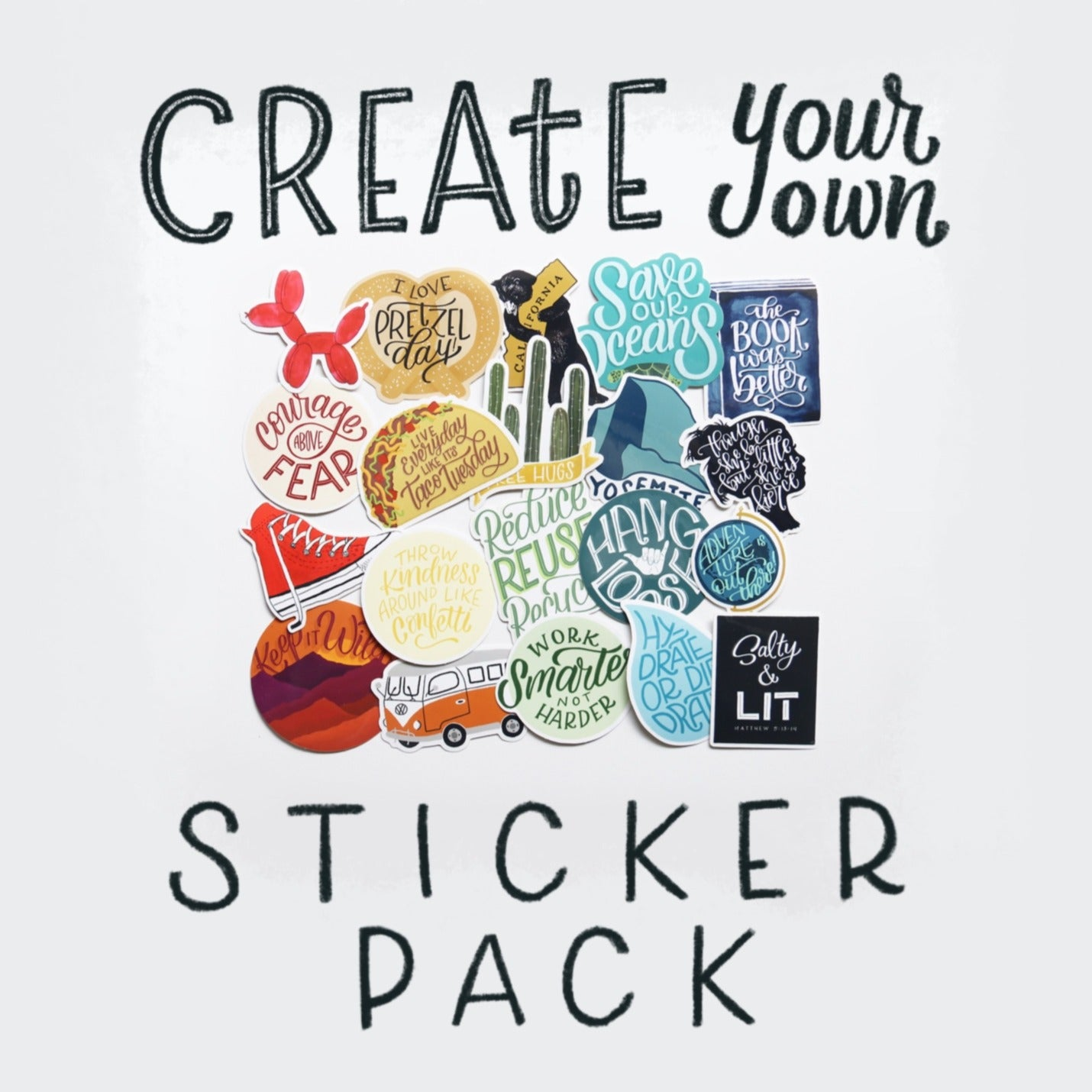 Create Your Own Sticker Pack