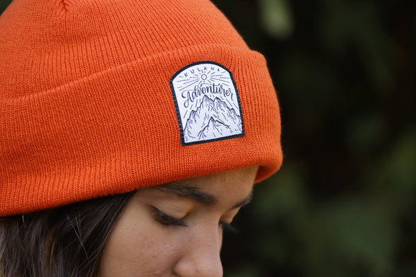Classic Adventurer Beanie - Orange