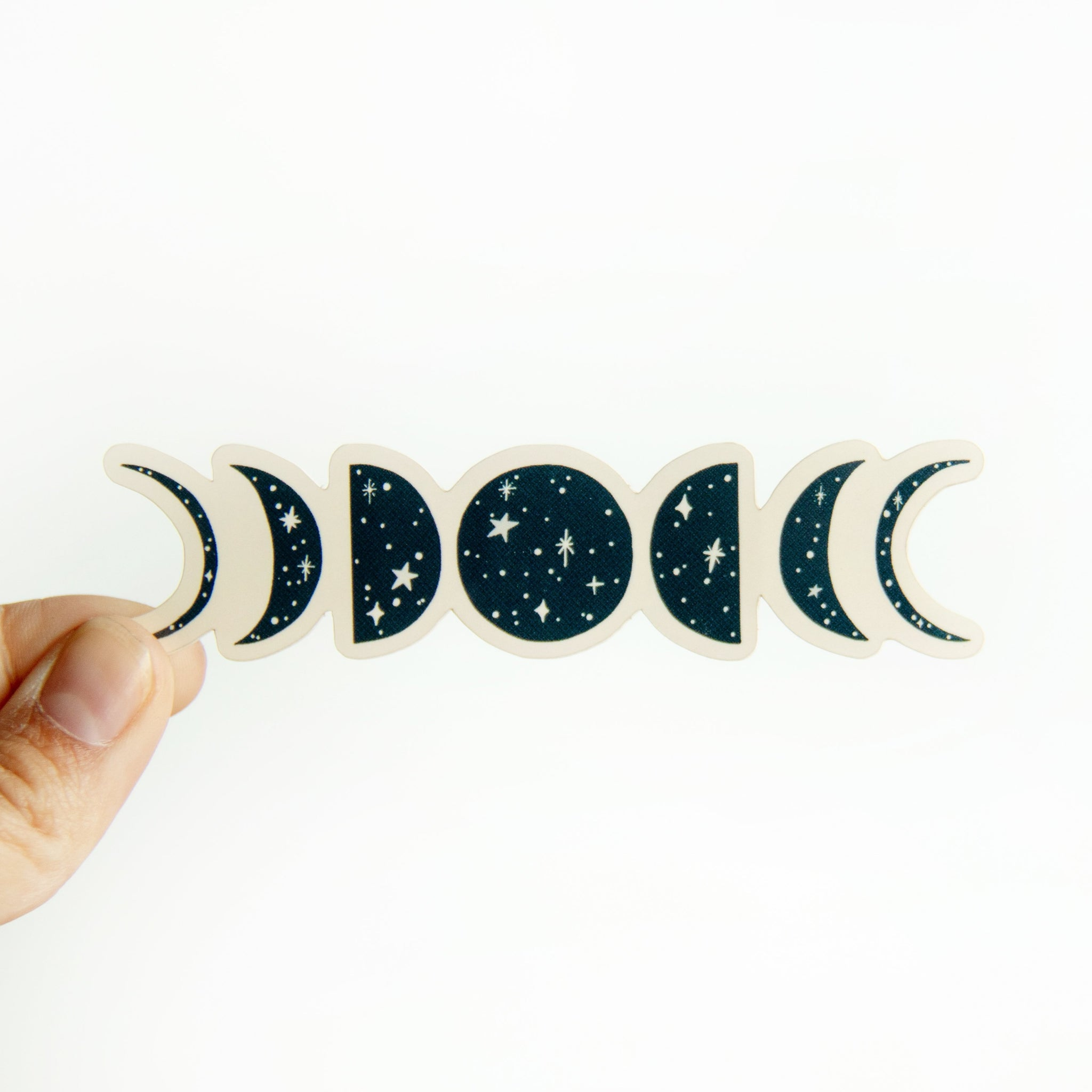 Phases of the Moon - Vinyl Sticker