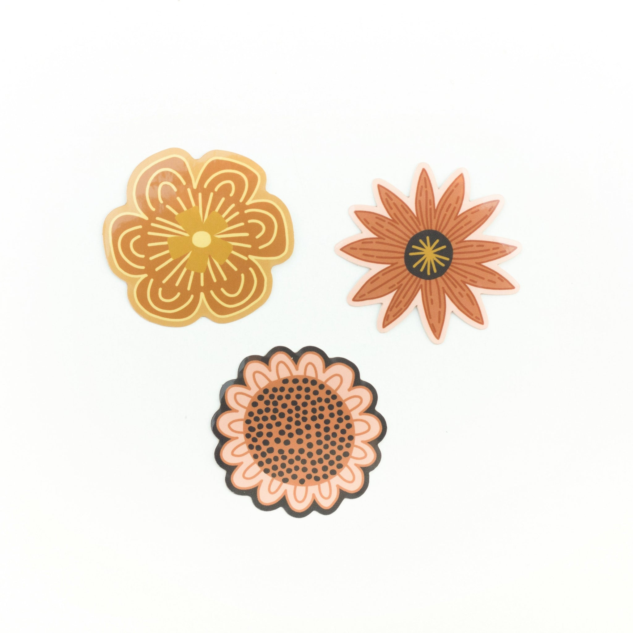 Wild flower sticker pack