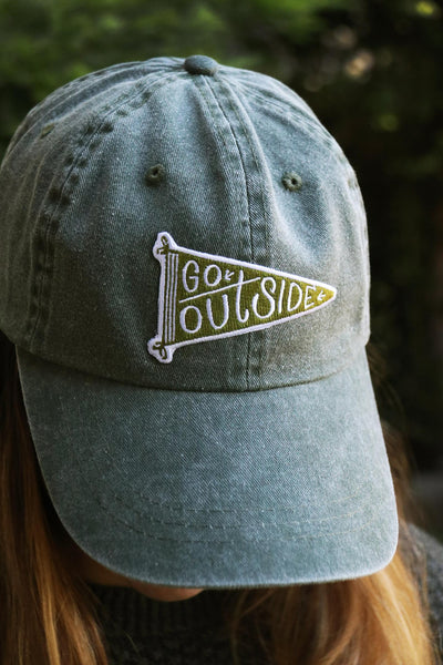 Go Outside Dad Hat