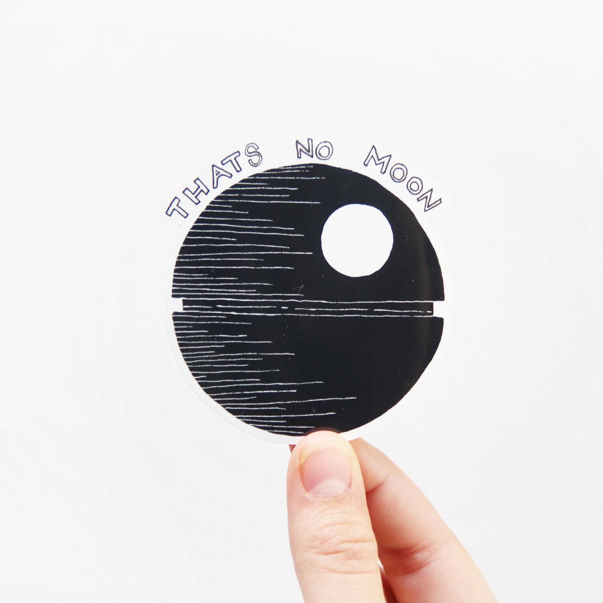 That's No Moon Sticker