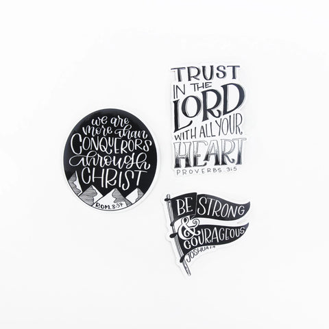 Bible Verse Sticker Pack